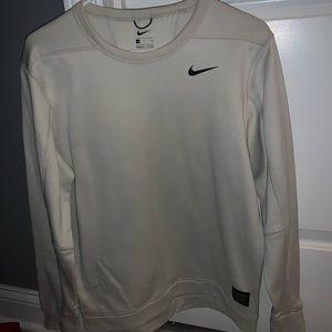 Tan Nike Crew neck